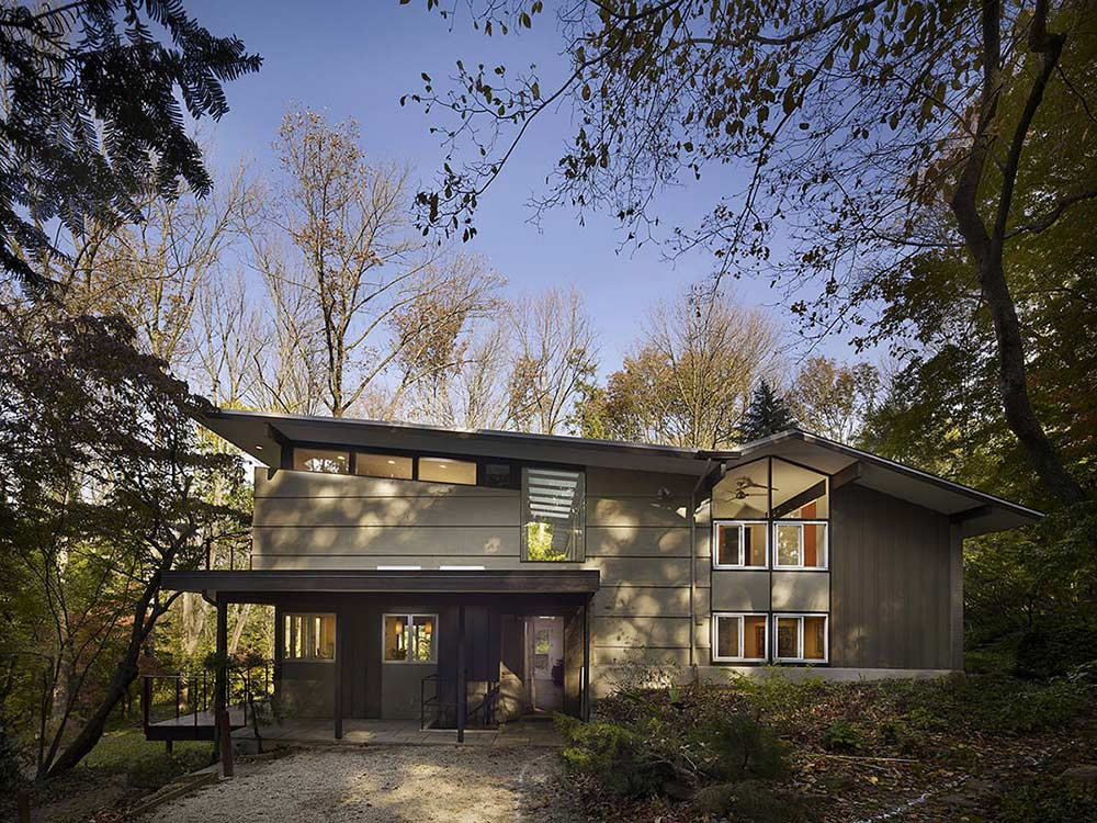 Seidenberg House, Pennsylvania by Metcalfe Architecture & Design