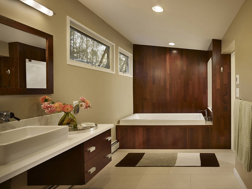 Bathroom, Seidenberg House, Pennsylvania by Metcalfe Architecture & Design