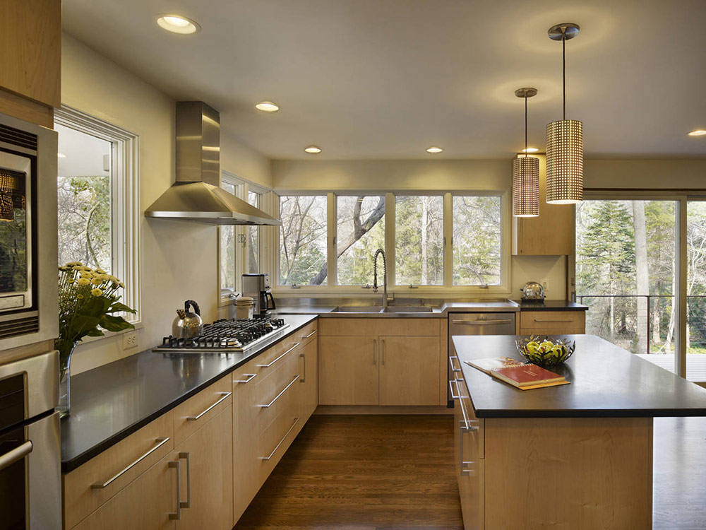 Kitchen, Seidenberg House, Pennsylvania by Metcalfe Architecture & Design