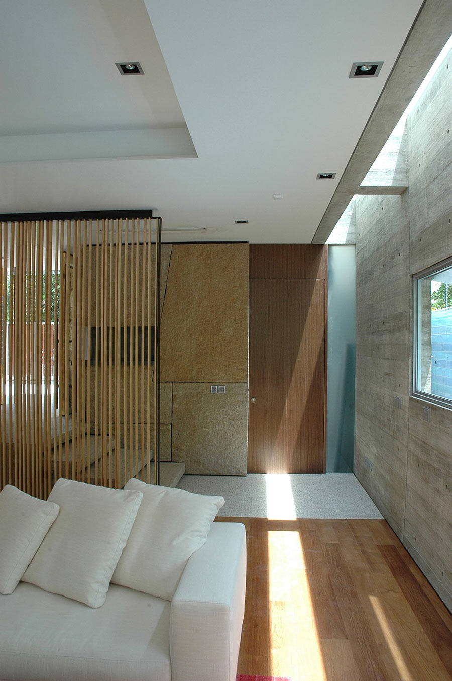 Living Room, Sunset Vale House, Singapore by WOW Architects