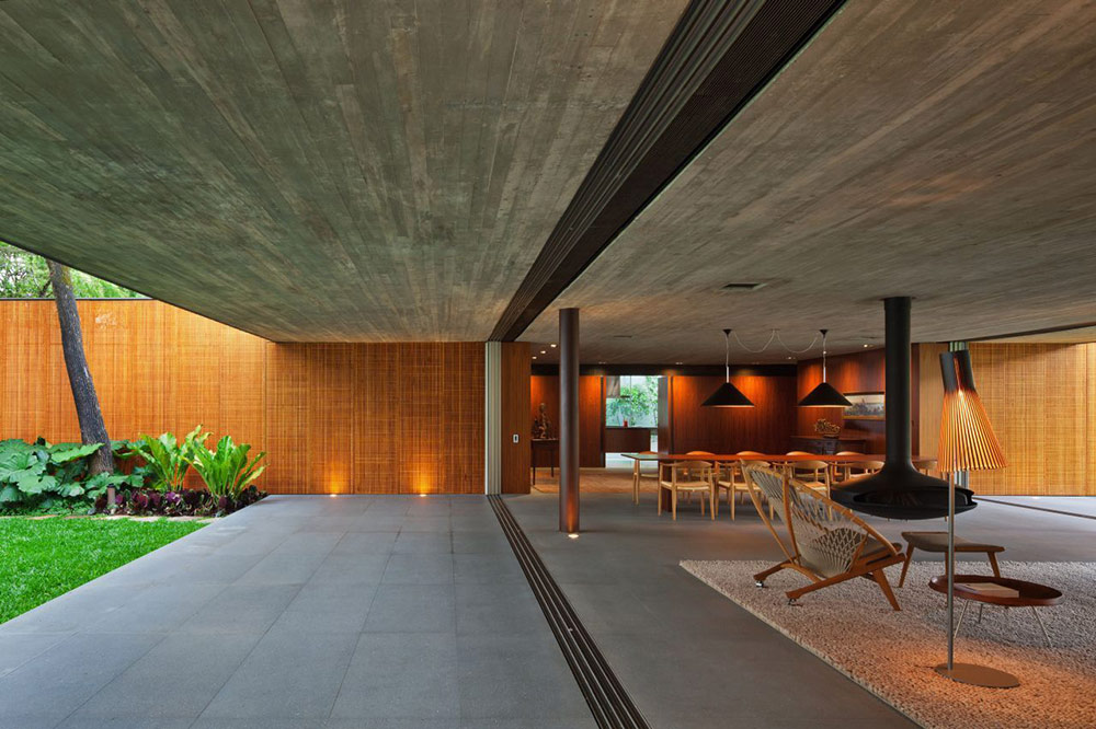 Open Plan Living, V4 house, Sao Paulo, Brazil by Studio MK27