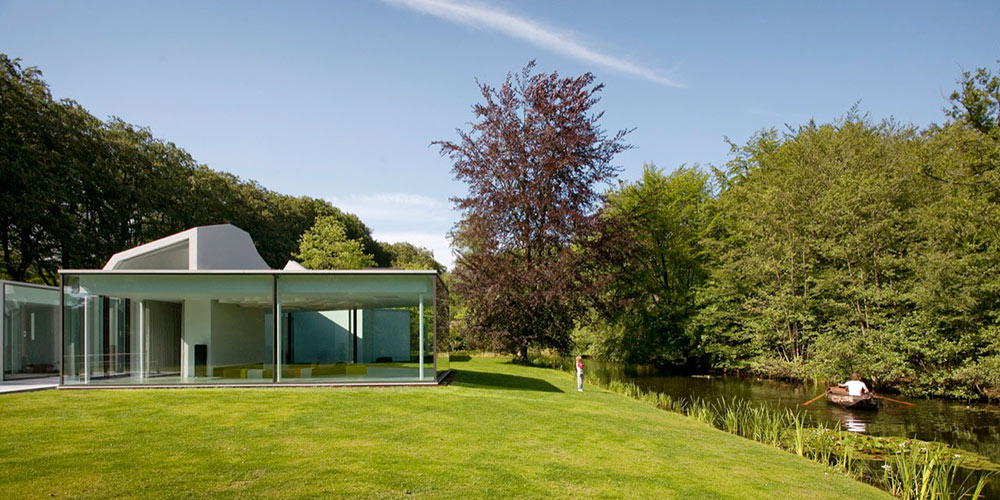 Villa 4.0, Netherlands by Dick van Gameren Architecten