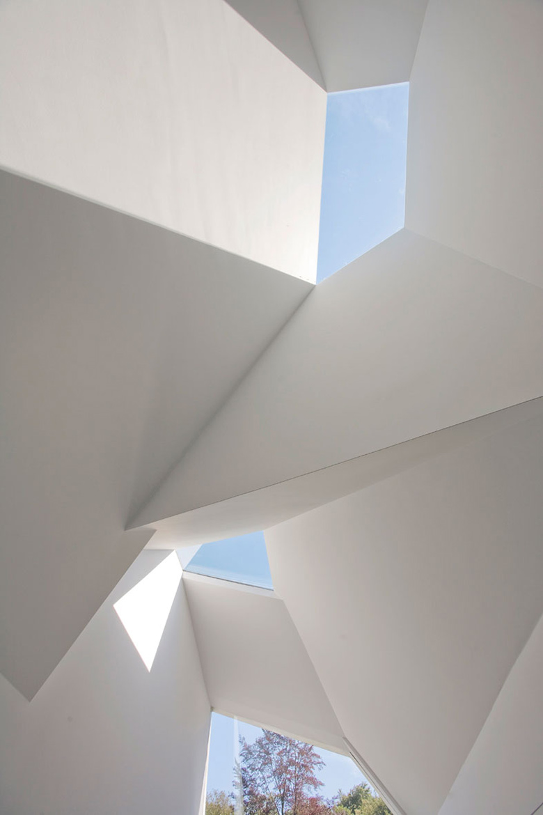 Ceiling, Villa 4.0, Netherlands by Dick van Gameren Architecten