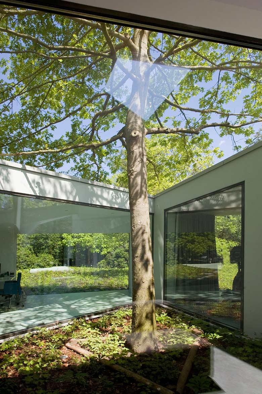 Courtyard, Villa 4.0, Netherlands by Dick van Gameren Architecten