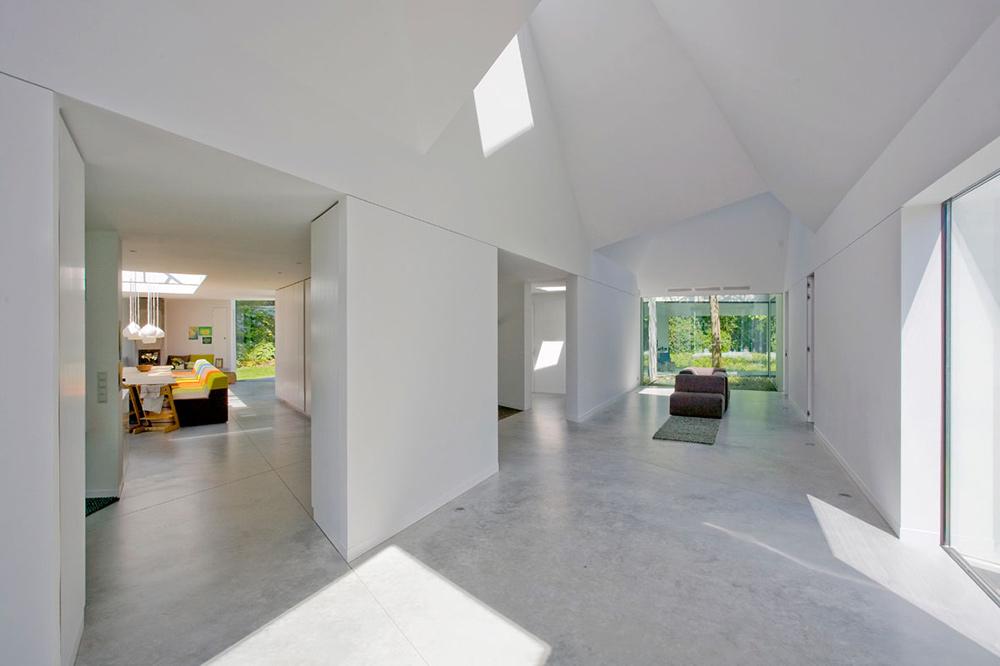 Hall, Villa 4.0, Netherlands by Dick van Gameren Architecten
