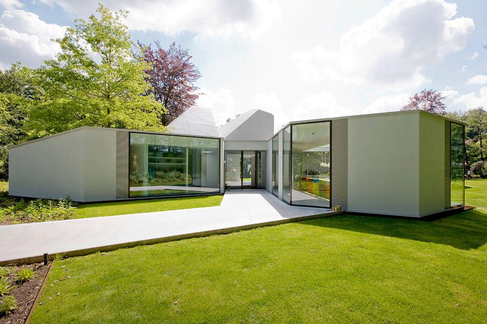 Entrance, Villa 4.0, Netherlands by Dick van Gameren Architecten