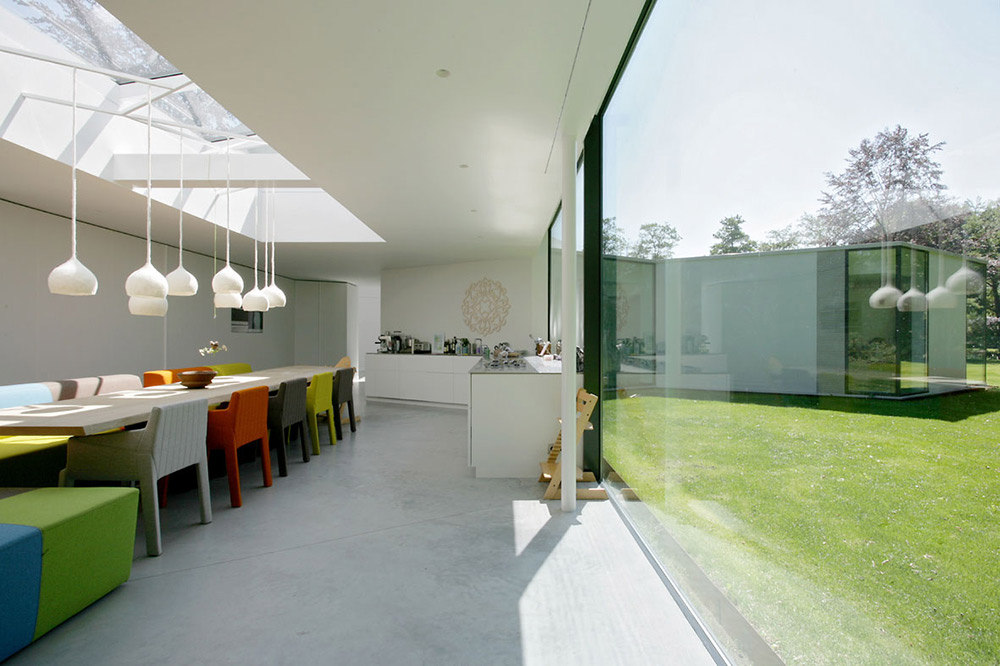 Kitchen, Dining, Villa 4.0, Netherlands by Dick van Gameren Architecten