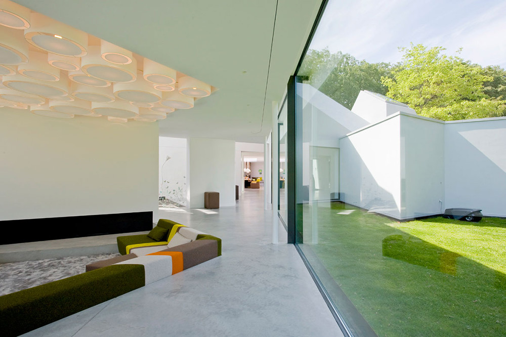 Living Space, Villa 4.0, Netherlands by Dick van Gameren Architecten