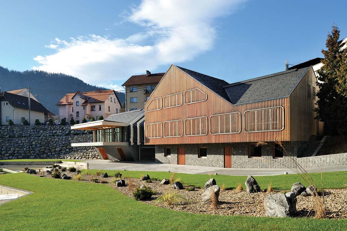 "Garden, Villa ""On the deck into life"", Slovenia by Superform"