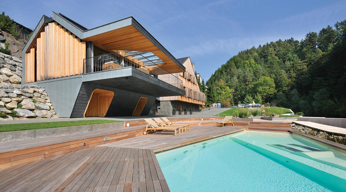 "Villa ""On the deck into life"", Slovenia by Superform"