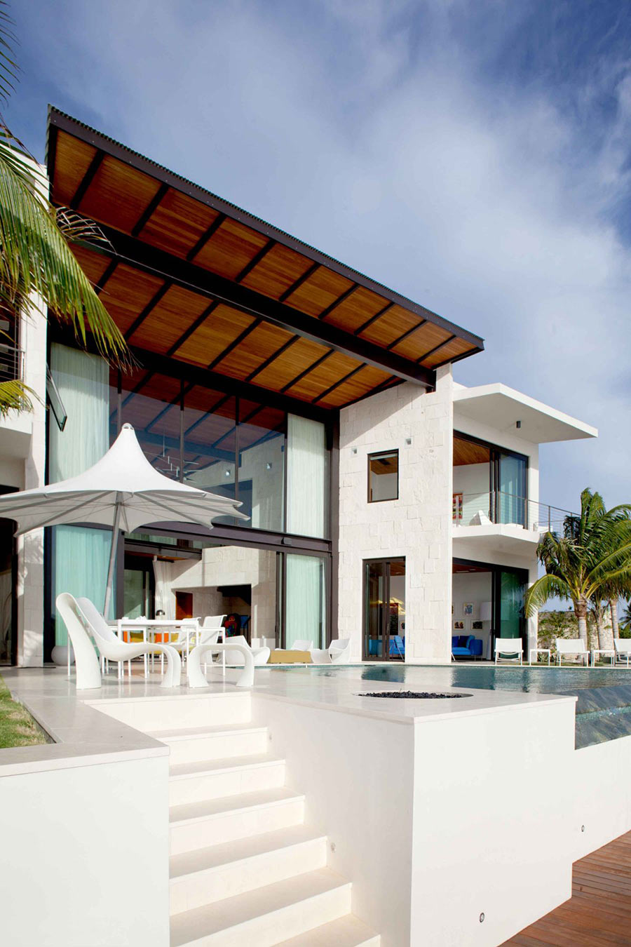 Infinity Pool, Outdoor Seating, Bonaire House, Netherlands Antilles