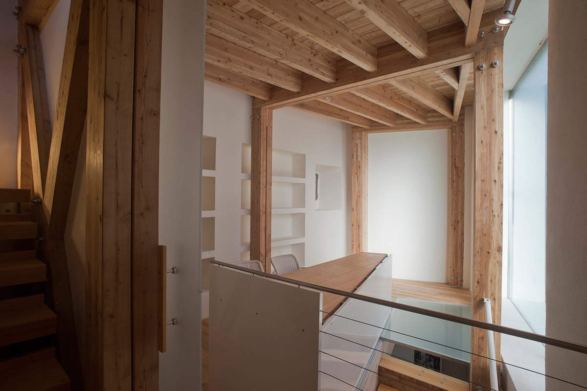 Office, Stairs, Casa Ceschi, Vicenza, Italy