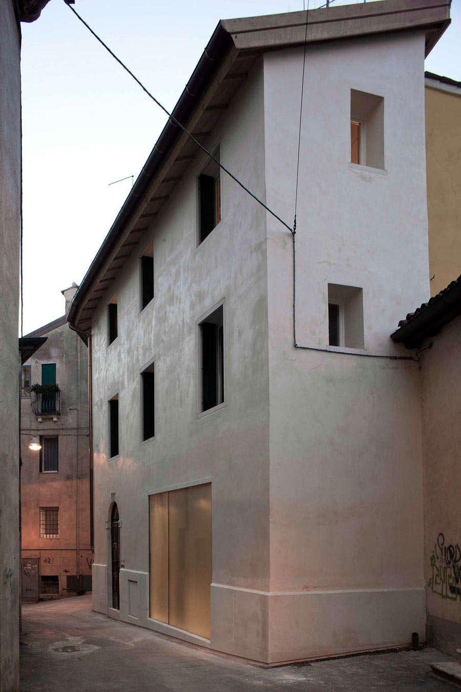 Casa Ceschi, Townhouse Restoration in Vicenza, Italy