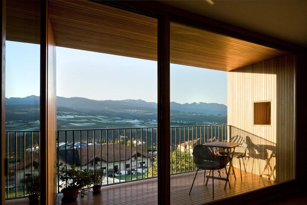 Balcony, Views, Casa Incantata B&B, Revò, Italy