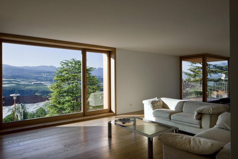 Living Space, Mountain Views, Casa Incantata B&B, Revò, Italy
