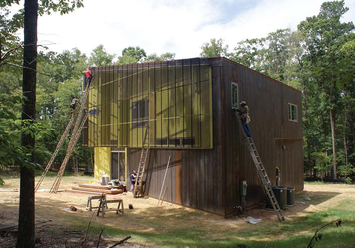 Construction, Crabill Modern, North Carolina by Tonic Design