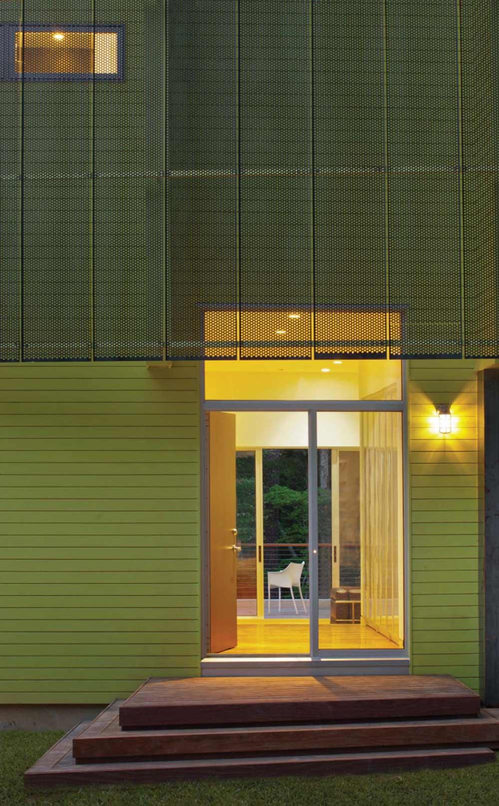 Entrance, Crabill Modern, North Carolina by Tonic Design