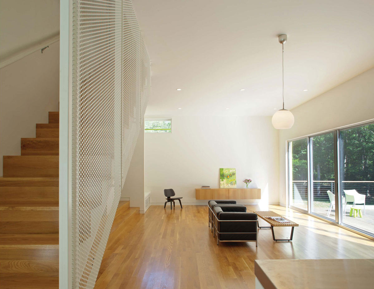 Living Space, Stairs, Crabill Modern, North Carolina by Tonic Design
