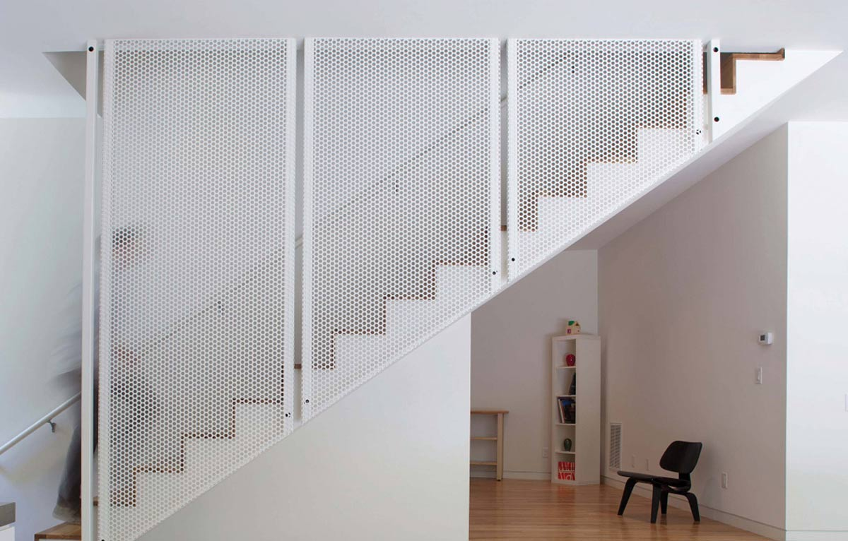 Stairs, Crabill Modern, North Carolina by Tonic Design