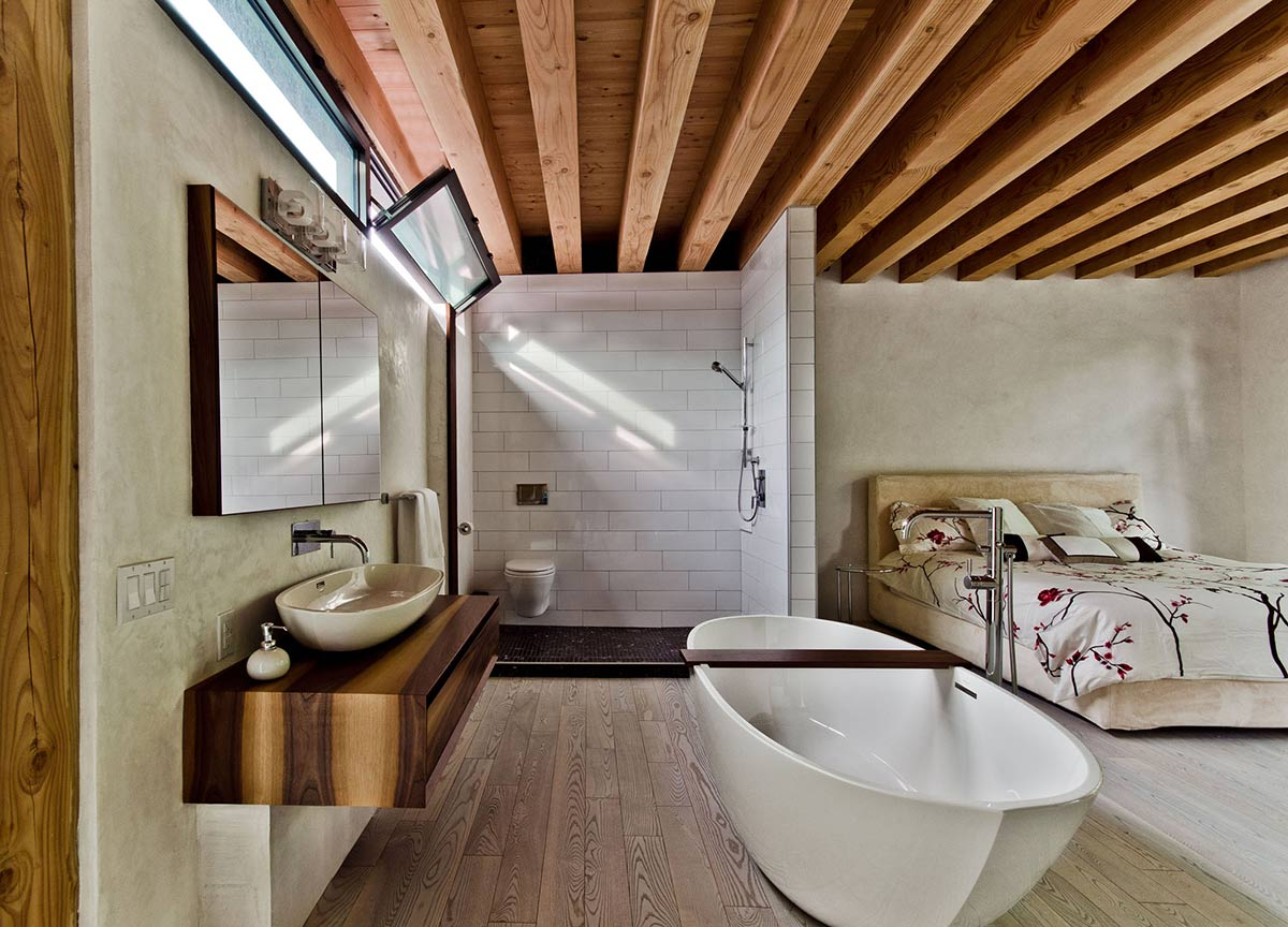 Bathroom, Bedroom, Ecologia Montreal by Gervais Fortin
