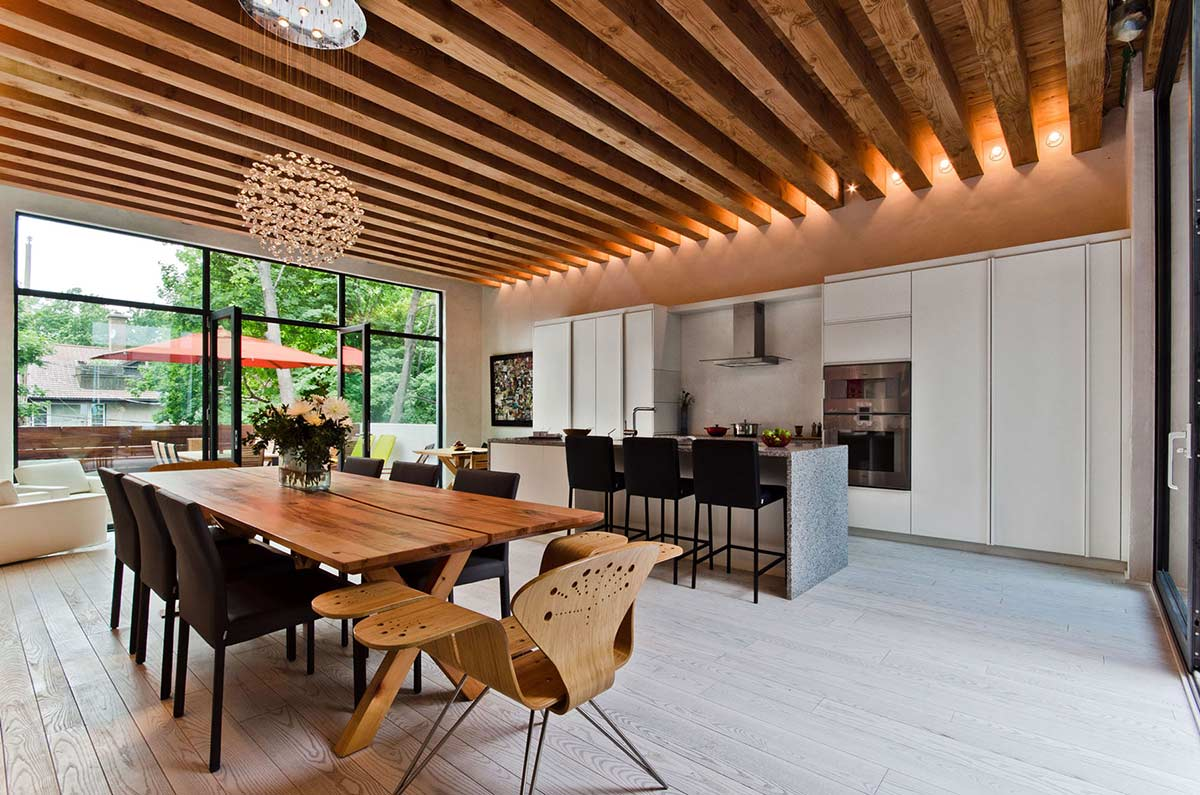 Dining, Kitchen, Ecologia Montreal by Gervais Fortin