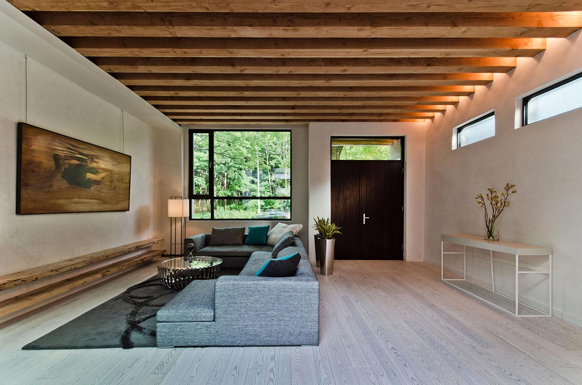 Living Space, Front Door, Ecologia Montreal by Gervais Fortin