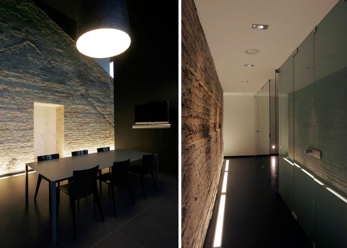 Hall, Dining Space, Glass House, Vilnius, Lithuania