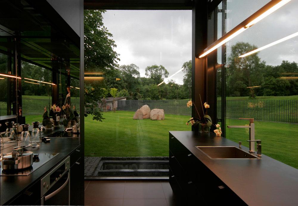 Kitchen, Glass House, Vilnius, Lithuania