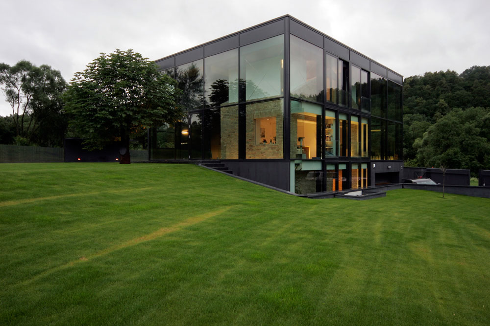 Spectacular Glass House, Vilnius, Lithuania