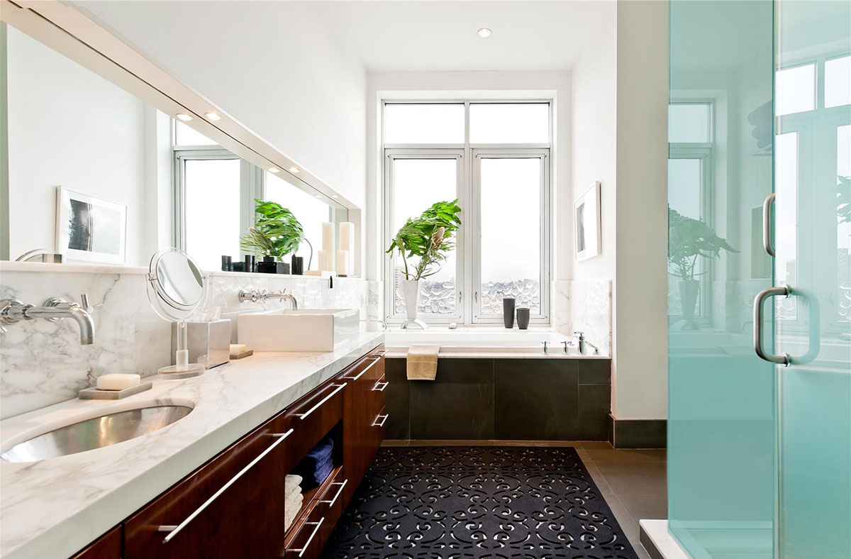Bathroom, Brooklyn Penthouse with Panoramic Views
