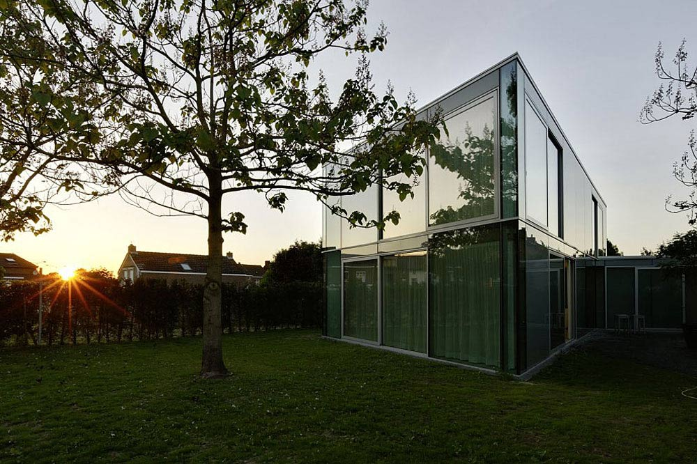 H House, Netherlands by Wiel Arets Architects