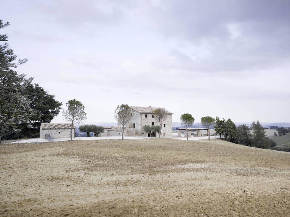Views, Home Renovation In Treia, Italy by Wespi de Meuron