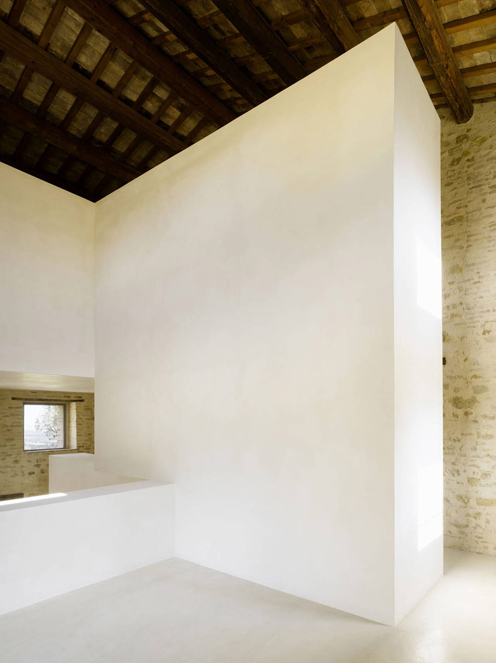 Home Renovation In Treia, Italy by Wespi de Meuron