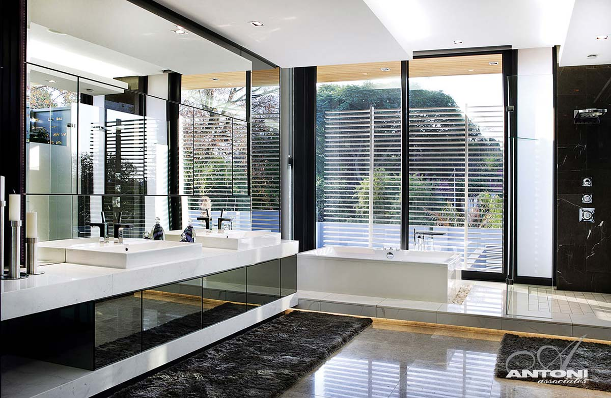 Bathroom, Houghton Residence, Johannesburg, South Africa