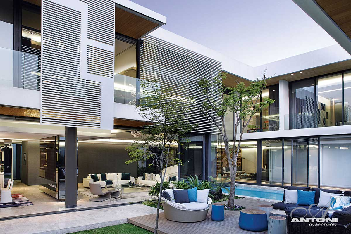 Outdoor Living, Terrace, Houghton Residence, Johannesburg, South Africa
