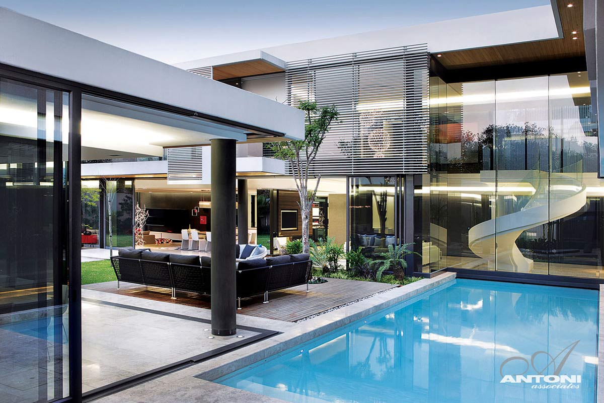 Pool Terrace, Houghton Residence, Johannesburg, South Africa