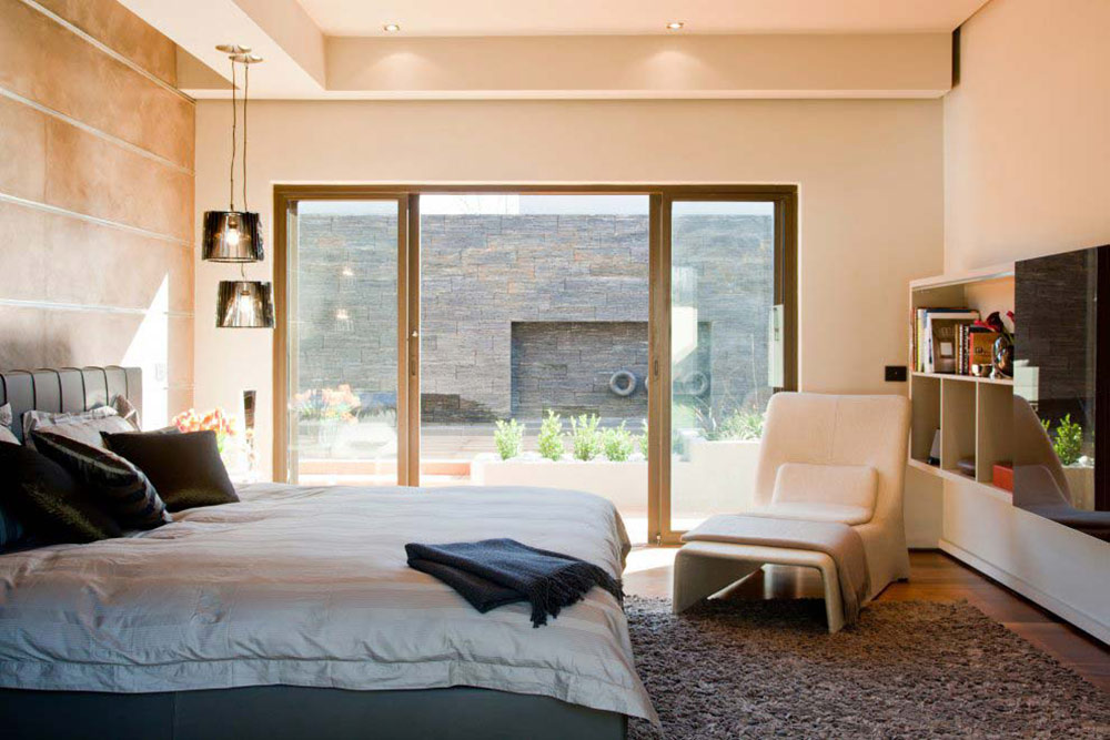 Bedroom, Patio Doors, House Aboobaker, Limpopo, South Africa