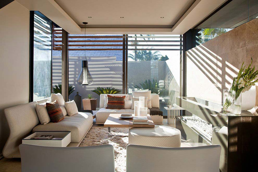 Contemporary Fireplace, House Aboobaker, Limpopo, South Africa