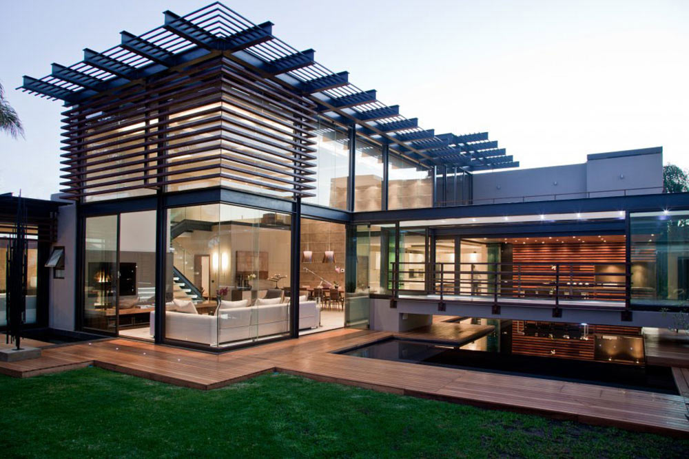 Glass Walls, Decking, Pool, House Aboobaker, Limpopo, South Africa