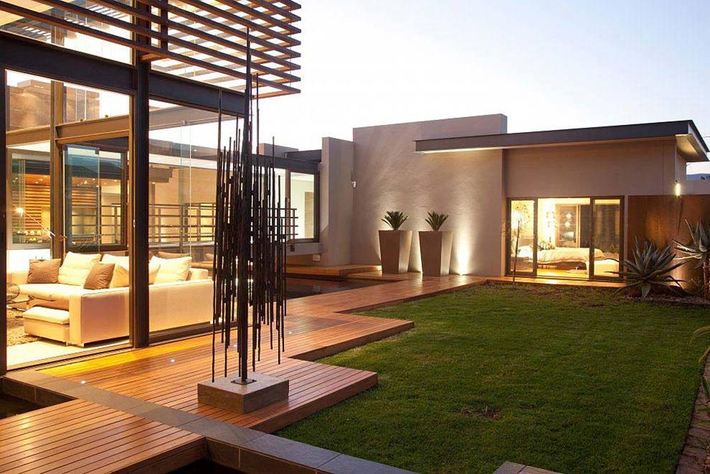 Garden, Decking, House Aboobaker, Limpopo, South Africa