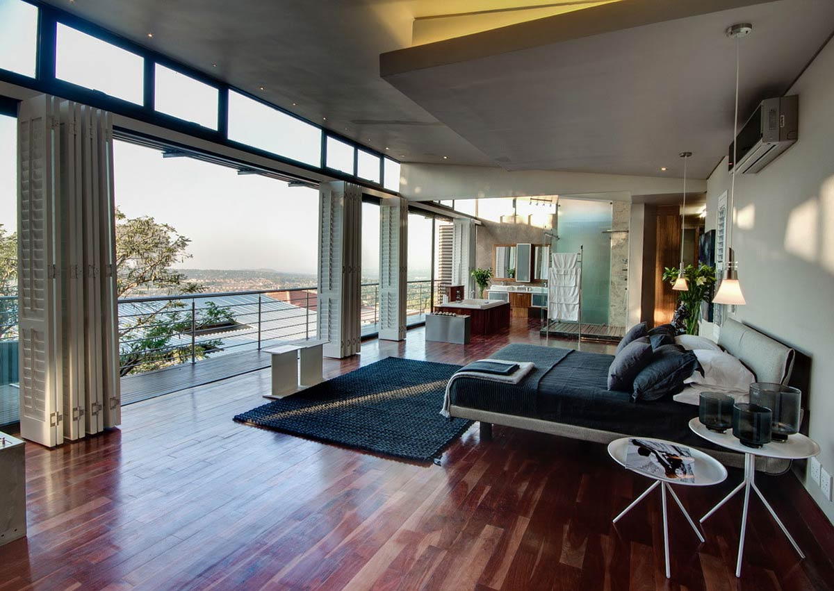 Bedroom, Balcony, Modern Upgrade in South Africa