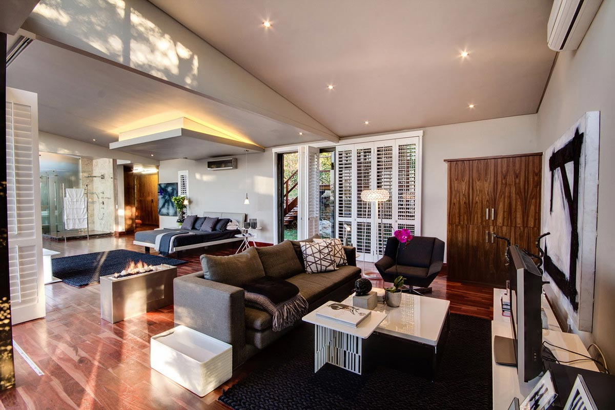 Bedroom, Living Space, Modern Upgrade in South Africa
