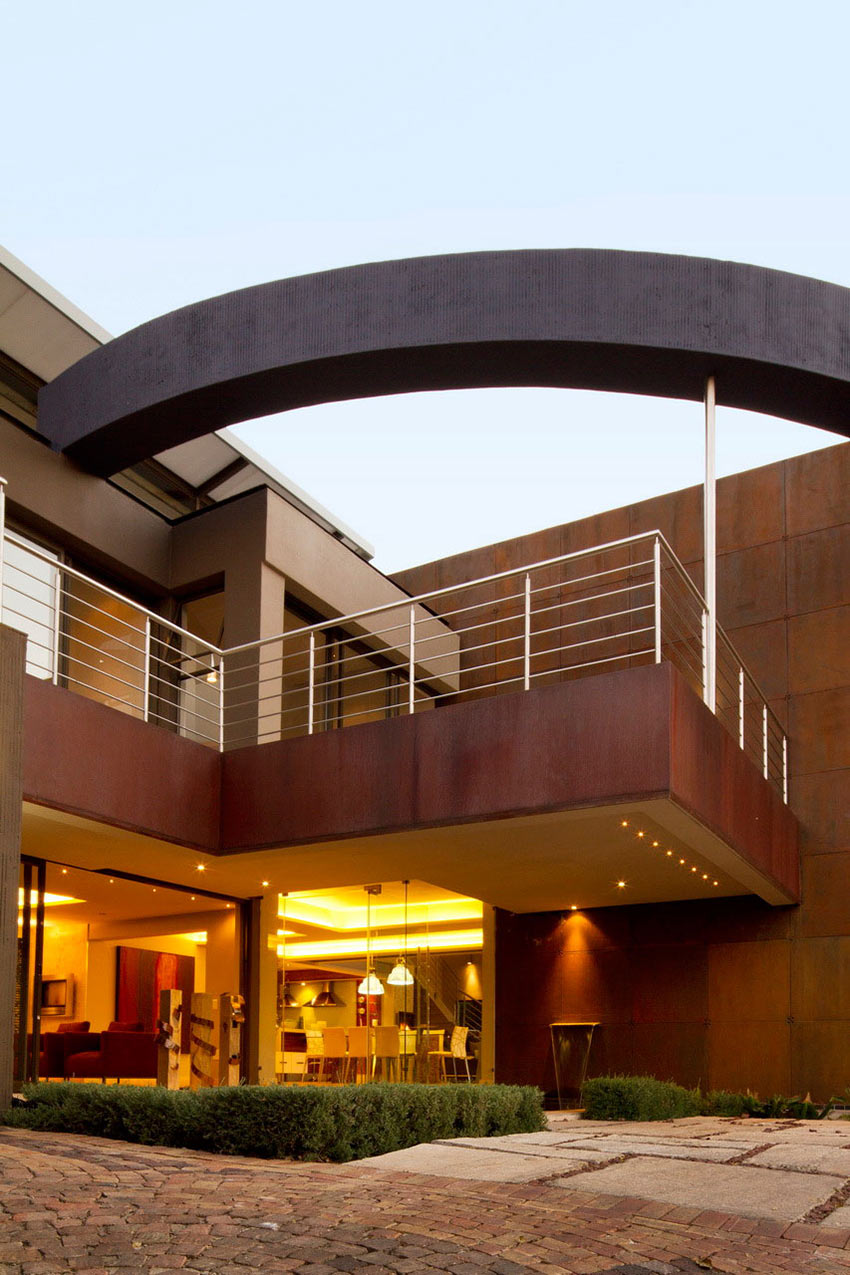 Entrance, Modern Upgrade in South Africa