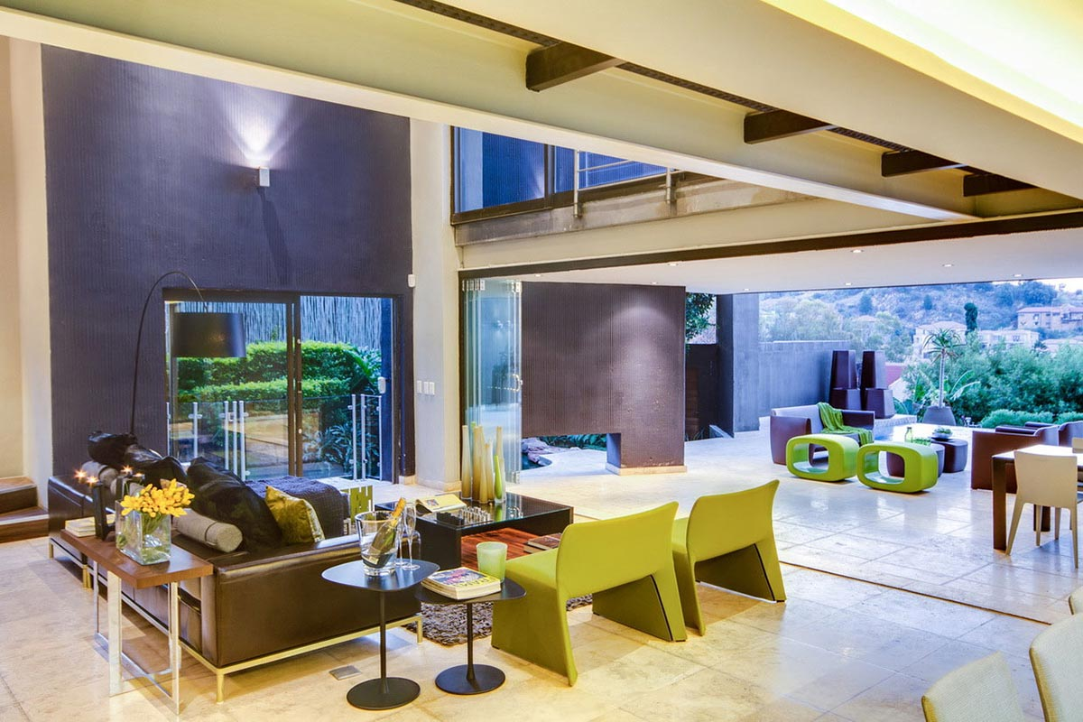 Living Space, Terrace, Modern Upgrade in South Africa