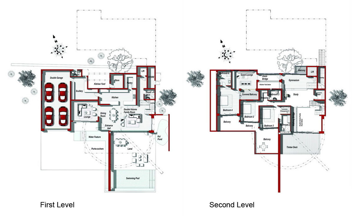 First & Second Level Plan, Modern Upgrade in South Africa