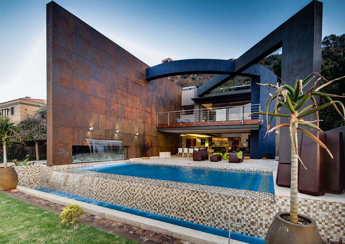 Outdoor Pool, Living, Modern Upgrade in South Africa