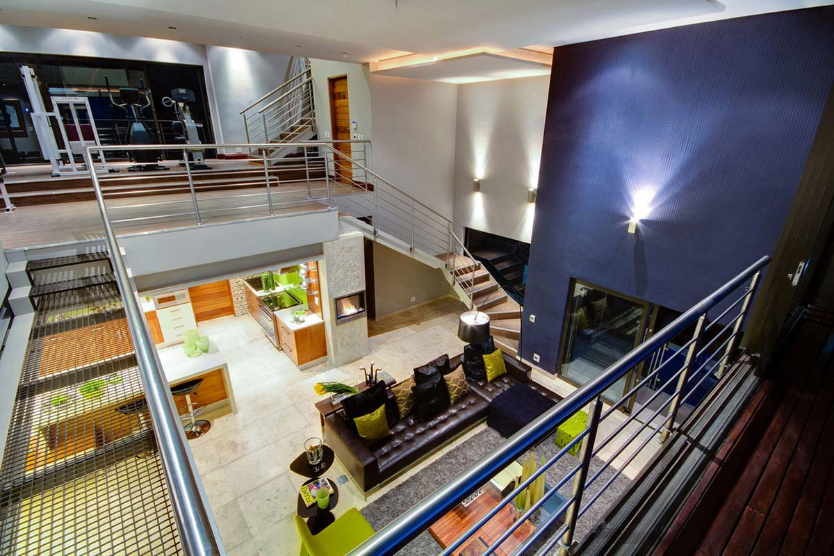 Stairs, Landing, Modern Upgrade in South Africa