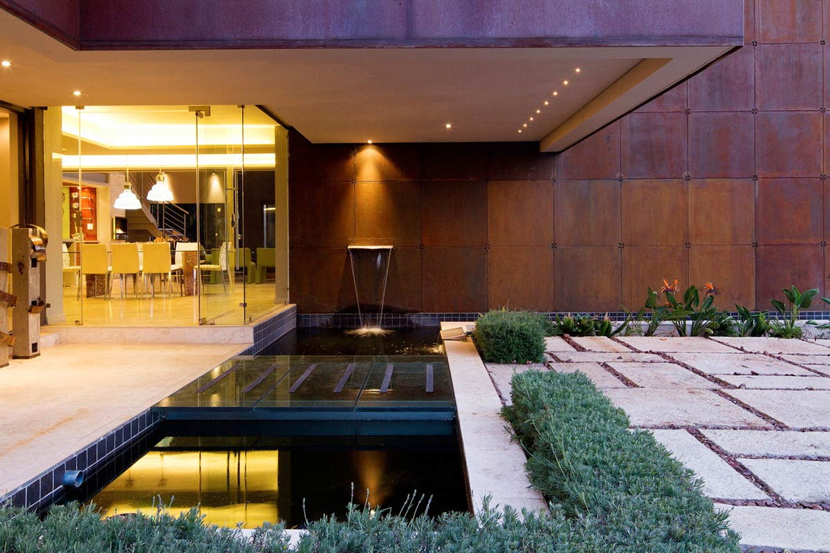 Water Feature, Waterfall, Modern Upgrade in South Africa