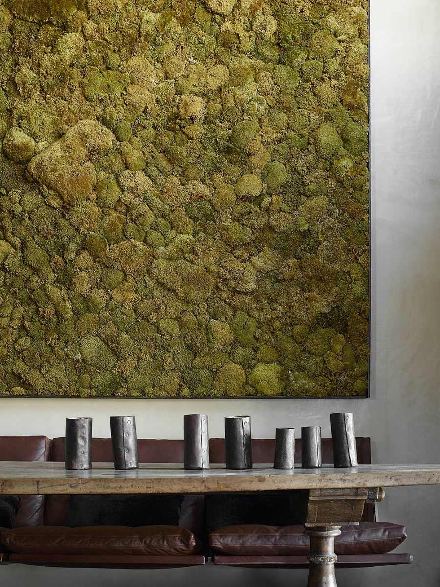 Dining Table, Moss Art, La Muna, Aspen, Colorado by Oppenheim Architecture + Design