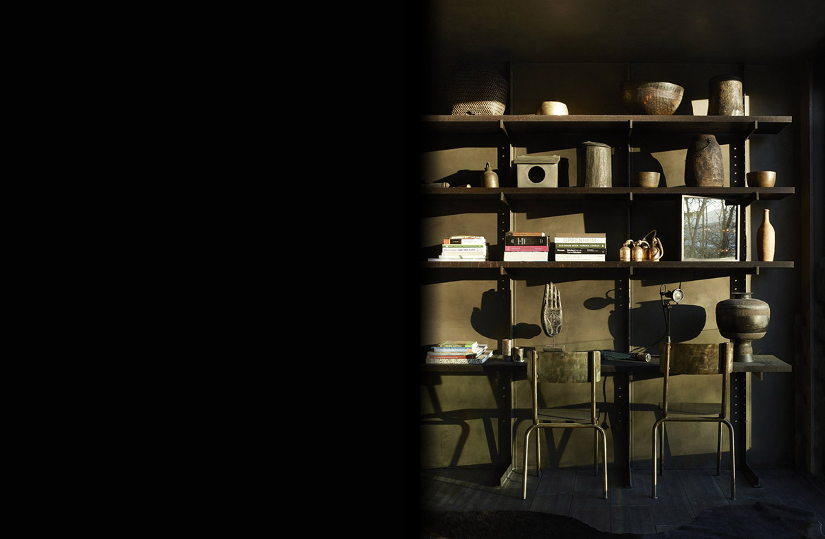 Shelves, La Muna, Aspen, Colorado by Oppenheim Architecture + Design